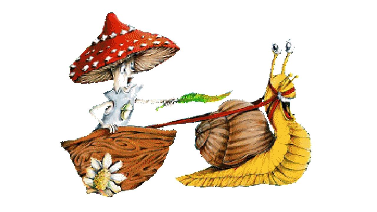 грибочки двигающиеся картинки