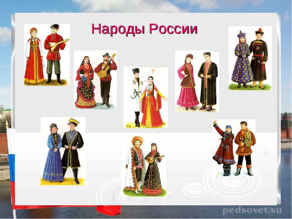 народности россии в картинках для первого класса полиции