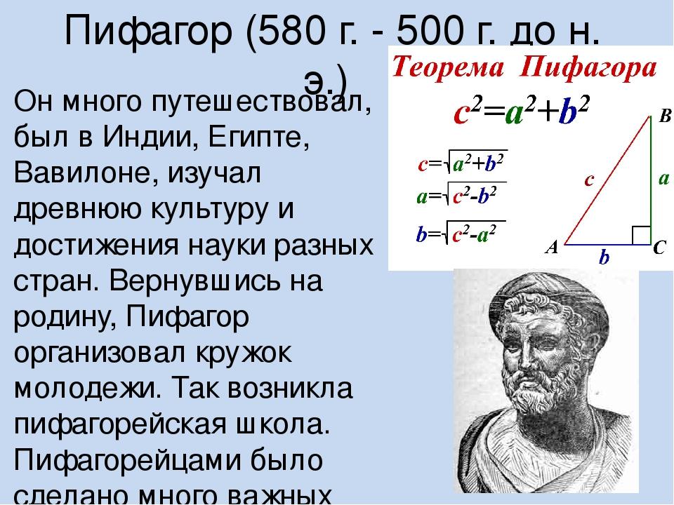 Открытия математики в картинках
