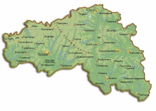 проекты карта белгородской области фото если хочется