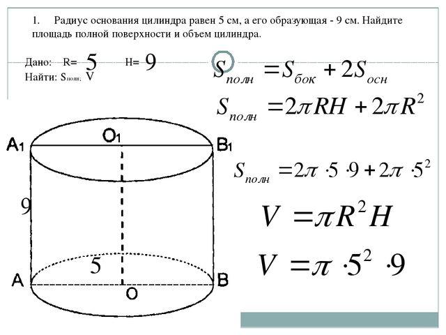 Решение задач по геометрии цилиндр решение задач по сопромату на кручение вала