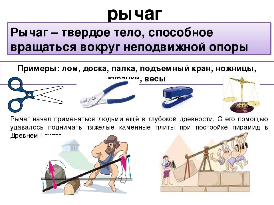 Картинки в презентацию простые механизмы