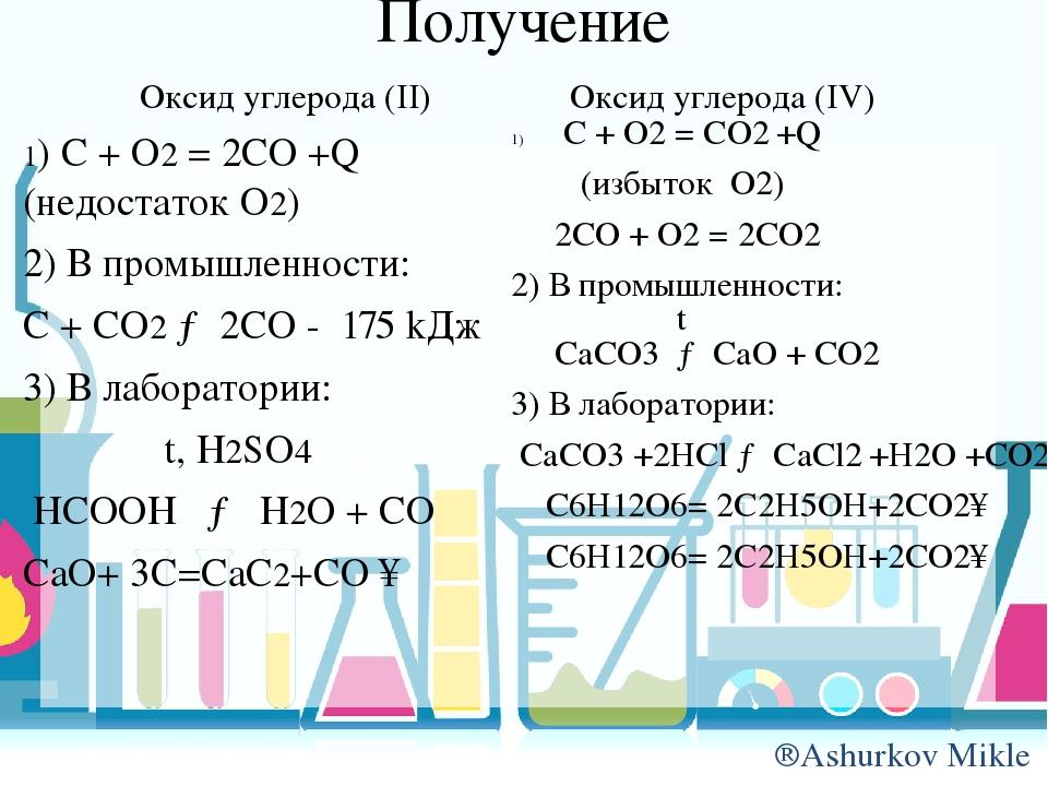 Гдз Практическая Работа Получение Оксида Углерода