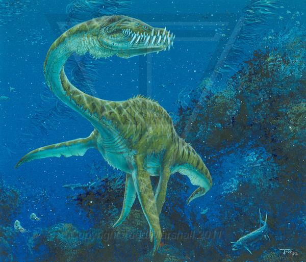 динозавры водоплавающие картинки с названиями