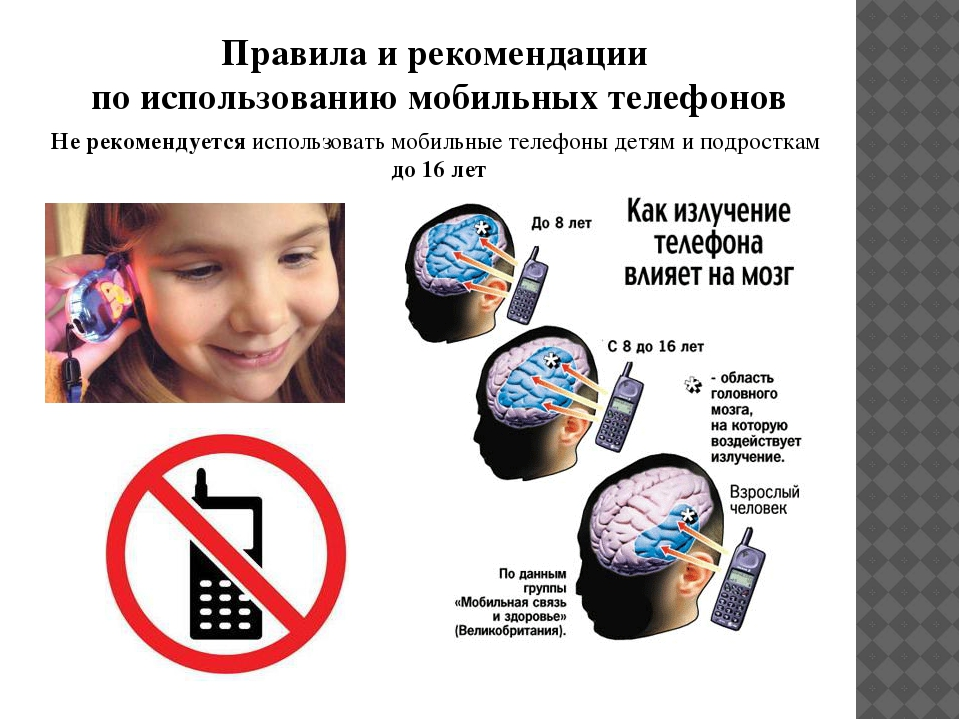 Картинки о вреде телефона