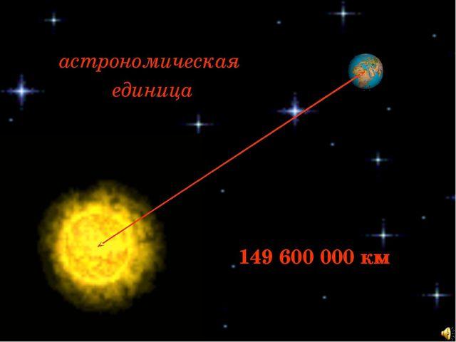 Лучик света - энциклопедия для детей:  космос. Астрономическая единица