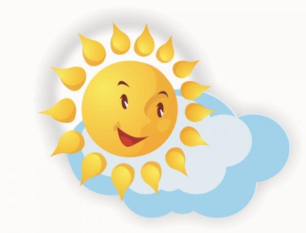 Солнце картинки в доу
