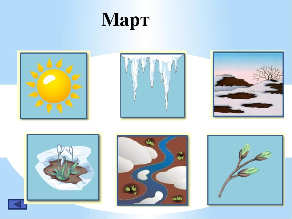 Приметы весны с картинками для дошкольников