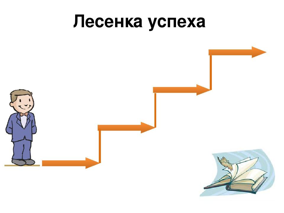 картинка лестница для рефлексии основном