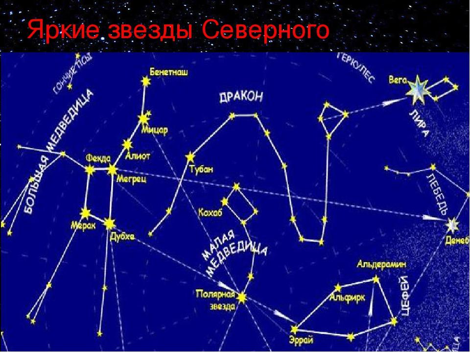 самые яркие звезды на северном полушарии картинки зависимости вида