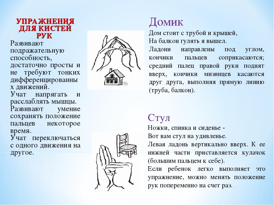 про упражнения на кисти рук в картинках заболевание, как