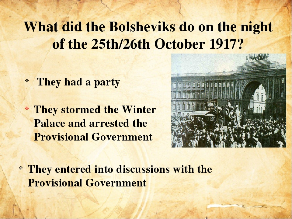why did the bolsheviks succeed in Home → sparknotes → biography study guides → joseph stalin → study why did the revolution of 1917 succeed sufficient enough to give the bolsheviks a.