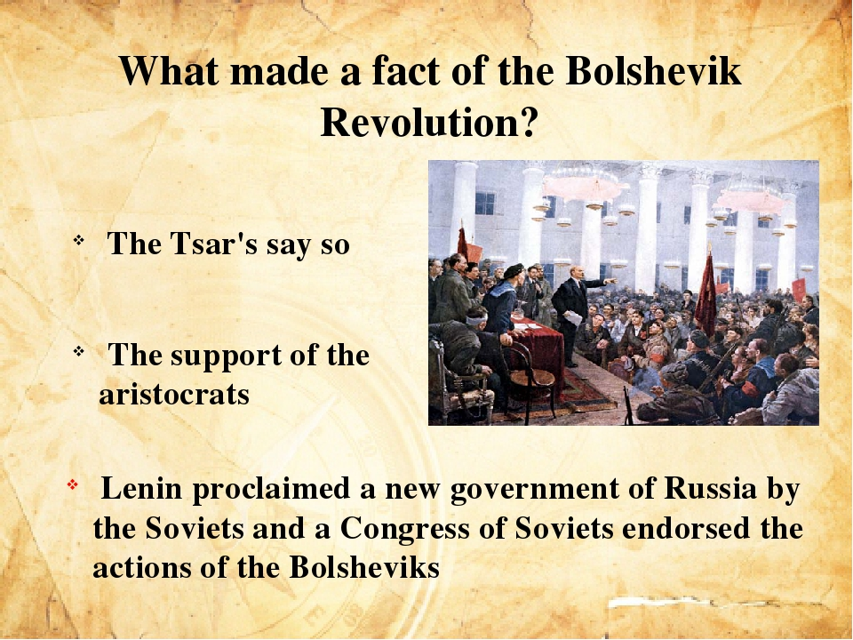 success of bolsheviks in russian revolution October 1917: the bolshevik revolution trotsky was scathing in his history of the russian revolution about a pravda article in early march which said:.