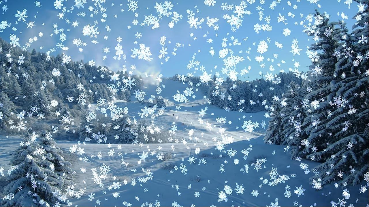 Анимации зима картинки