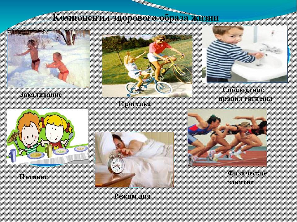 Здоровый способ жизни в картинках