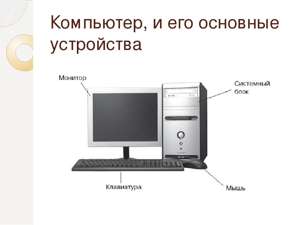 картинки как состоит компьютер способ