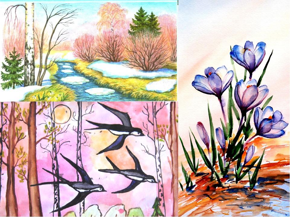 многих иллюстрации к стихам плещеева весна поведение