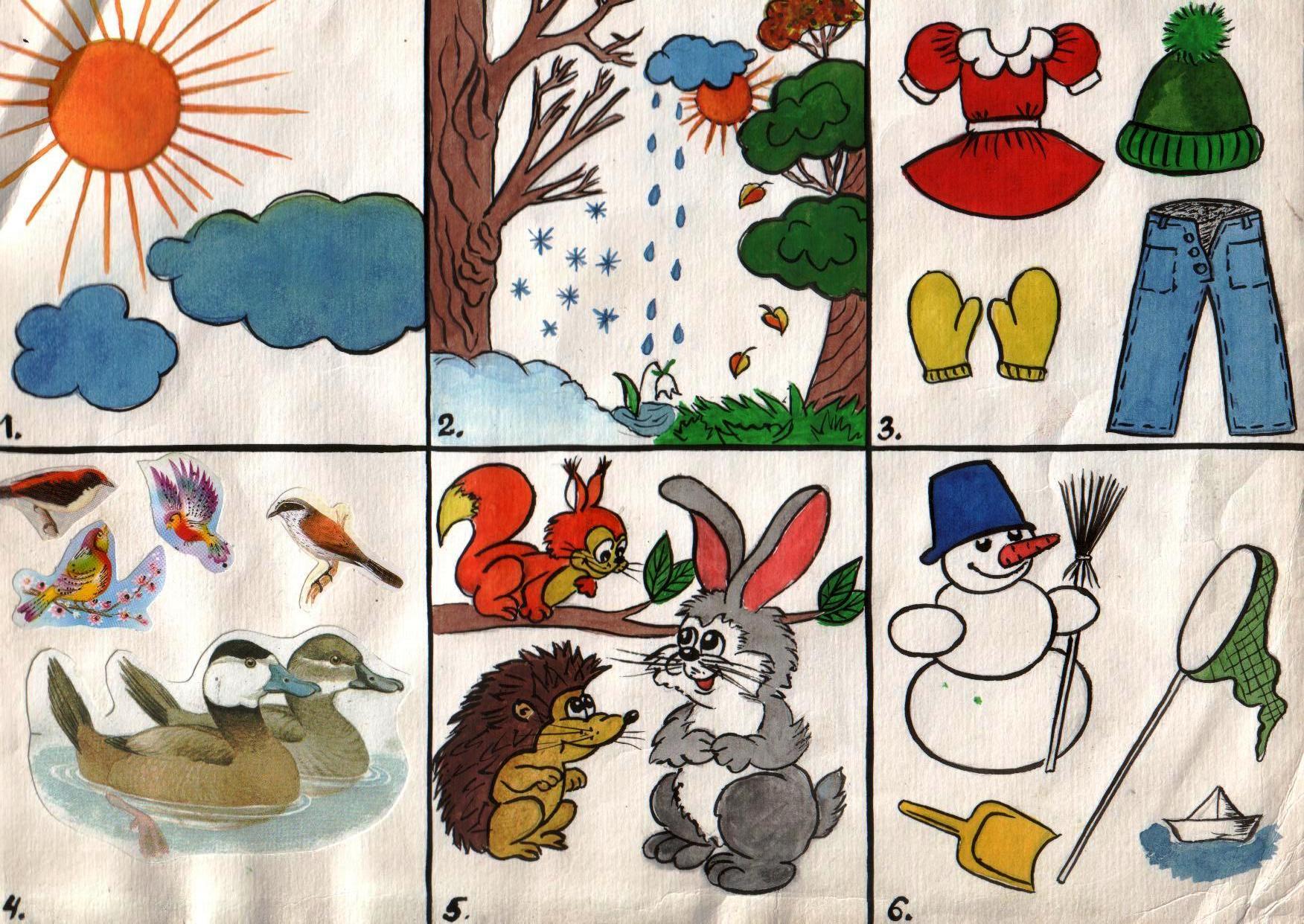 Обучение рассказыванию по картинкам старшая группа развитие речи