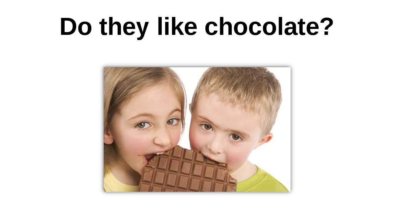 Do they like chocolate?