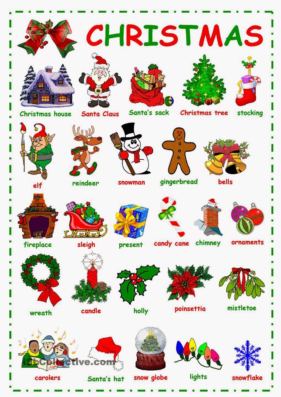 Лексика по теме новый год на английском языке