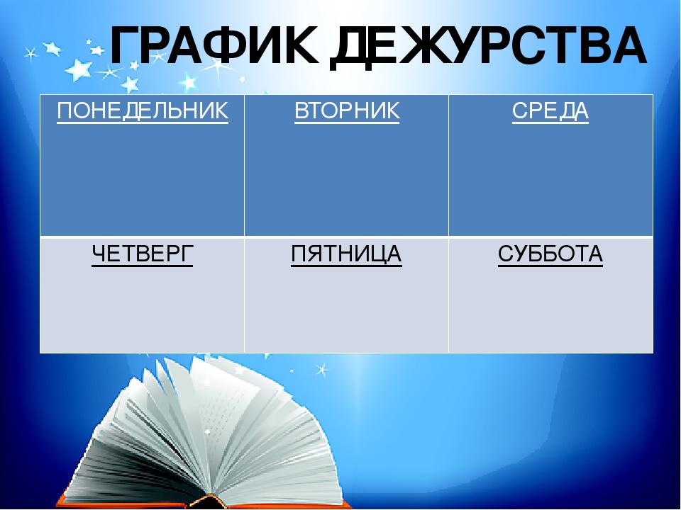 круго картинки к классному уголку график дежурства своих материалах