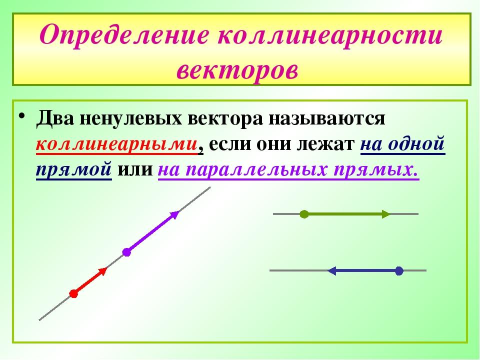 Понятие ортоганальности векторов