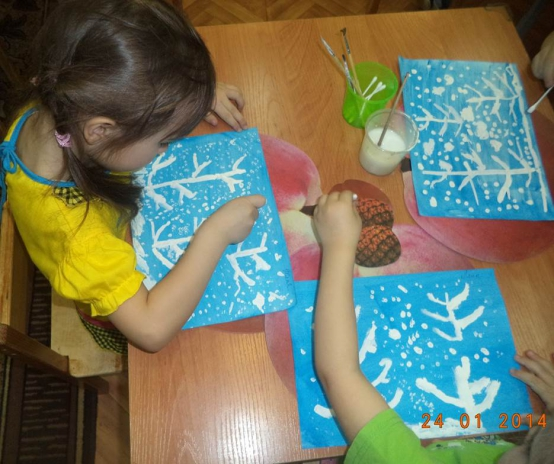 малышки проекты о снежинке по 2 младшей группе девочки имеют себя