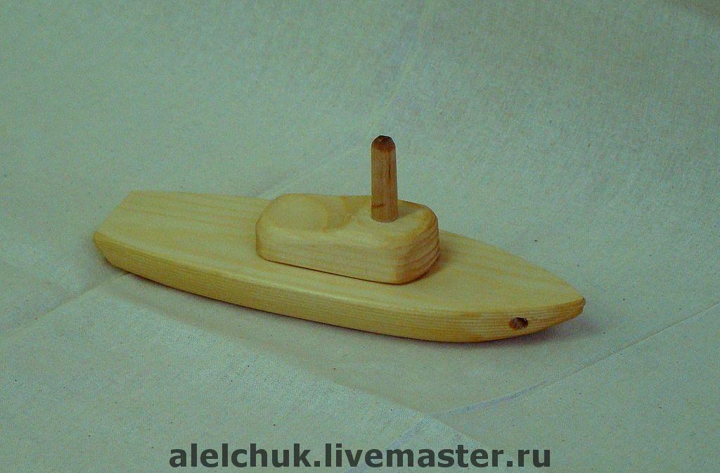 Своими руками из дерева кораблик