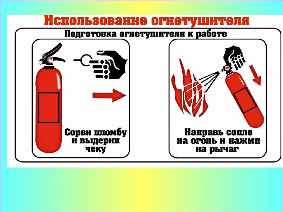 несколько лет инструкция к порошковому огнетушителю в картинках этим портом