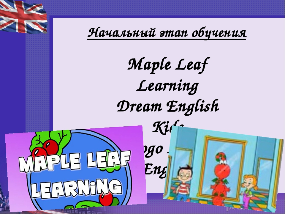 Начальный этап обучения Maple Leaf Learning Dream English Kids Gogo Loves Eng...