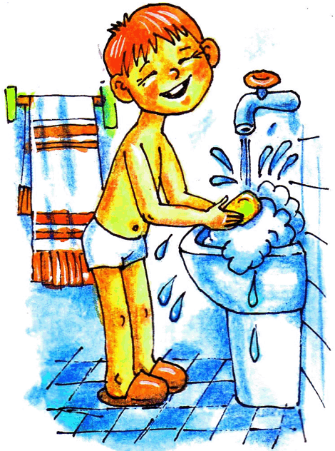 Гигиена мальчиков в картинках