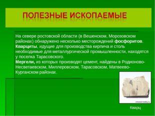 На севере ростовской области (в Вешенском, Морозовском районах) обнаружено н