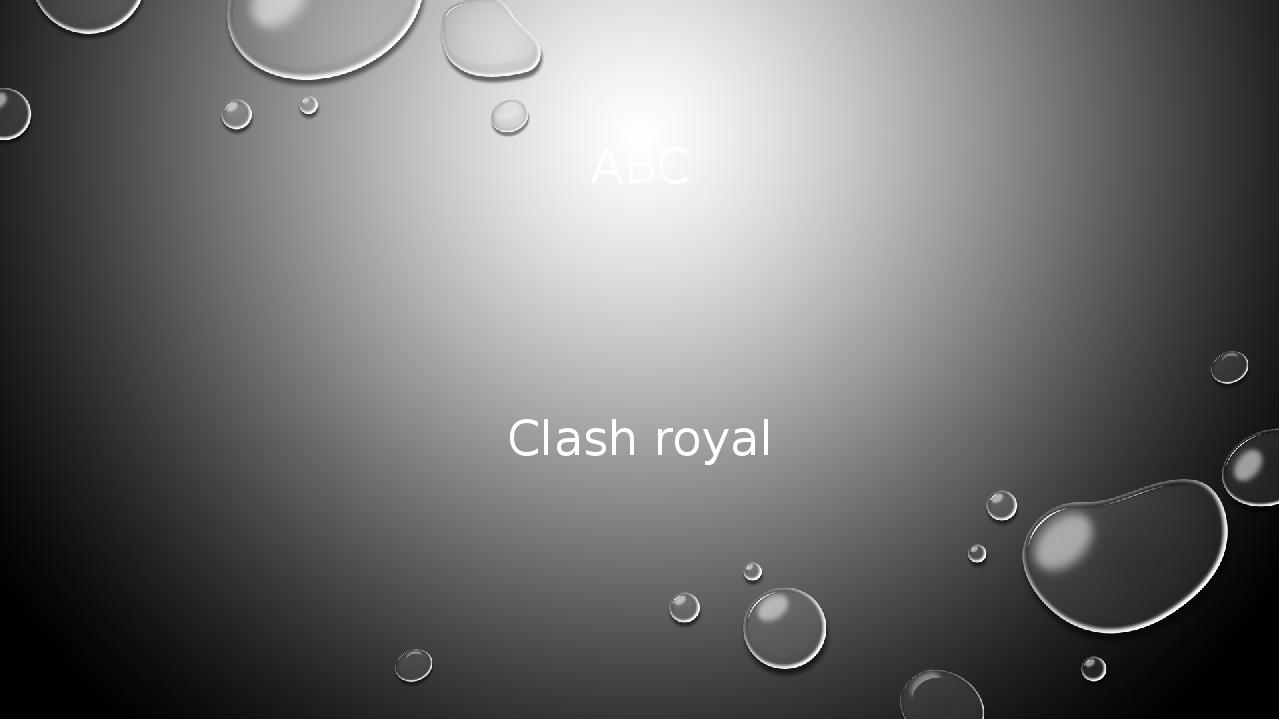 ABC Clash royal