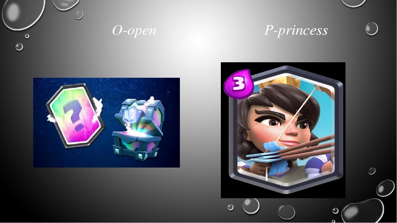 O-open P-princess