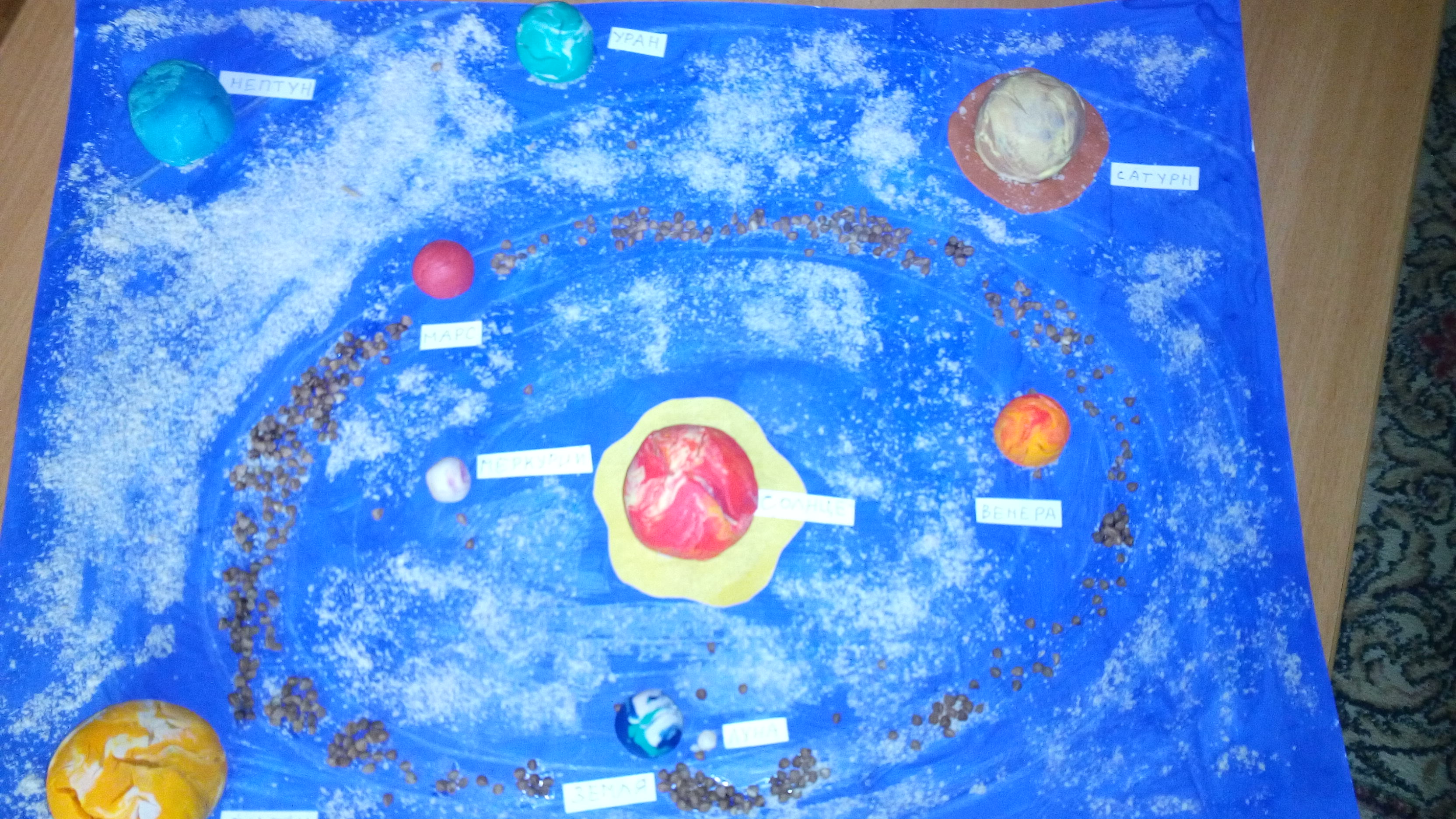 Поделка на тему космос в детский 26