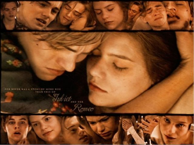 a comparison and contrast of romeo and juliet by william shakespeare and baz luhrmann