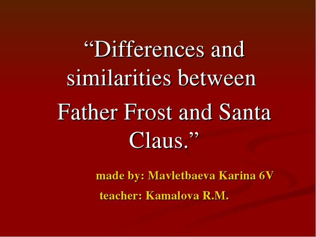 differences and similiraties between dickens and