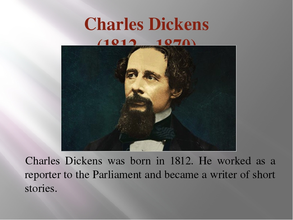 a biography of charles dickens born in 1812 Charles dickens was born february 7, 1812, in portsea, on the south coast of england, while his father was stationed nearby at portsmouth although the dickens.
