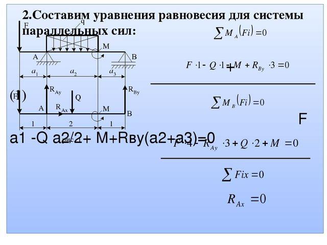Решение задач уравнения равновесия плоской системы сил t решить вот такую задачу