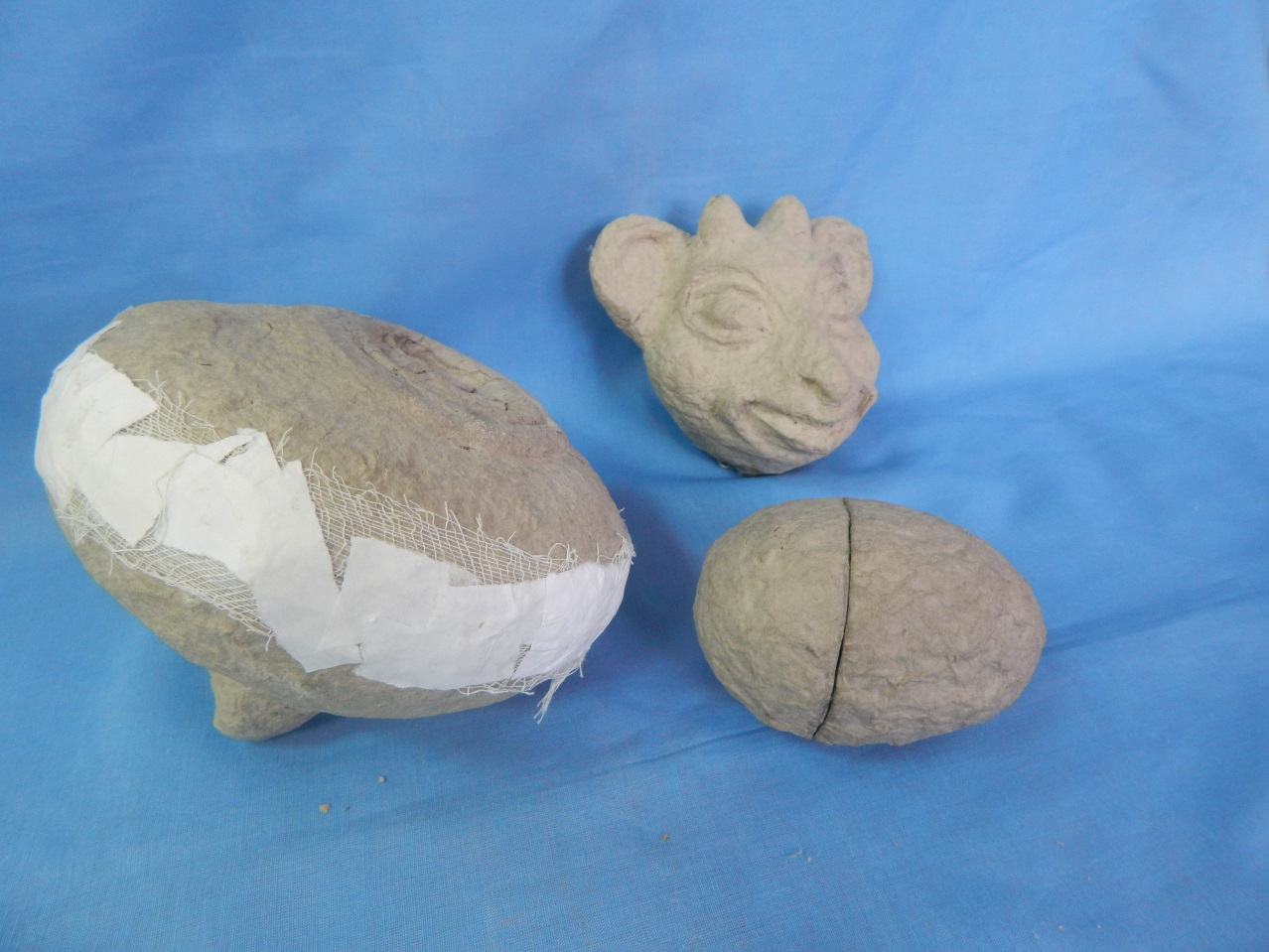 Папье-маше для начинающих из яичных лотков