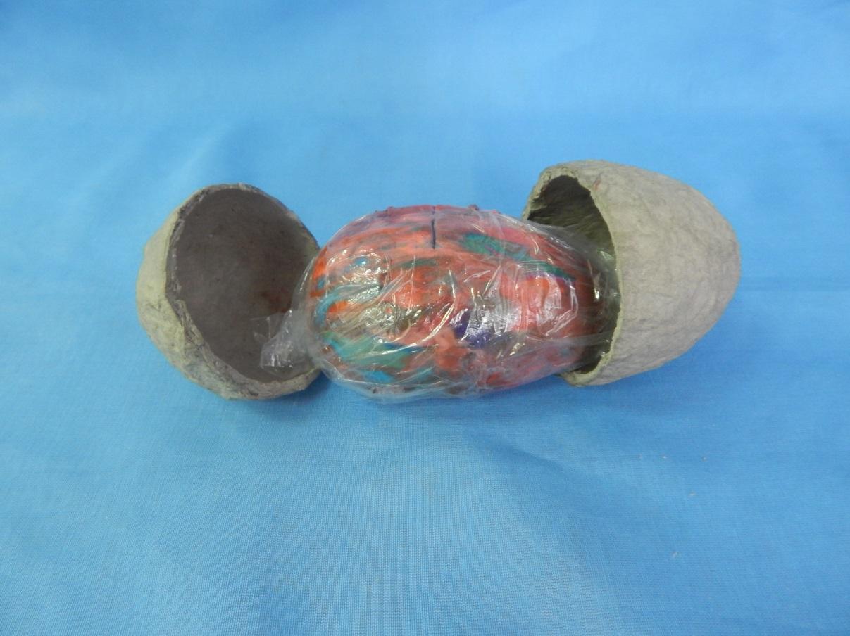 Имитация декоративного камня из яичных лотков. Обсуждение на 52