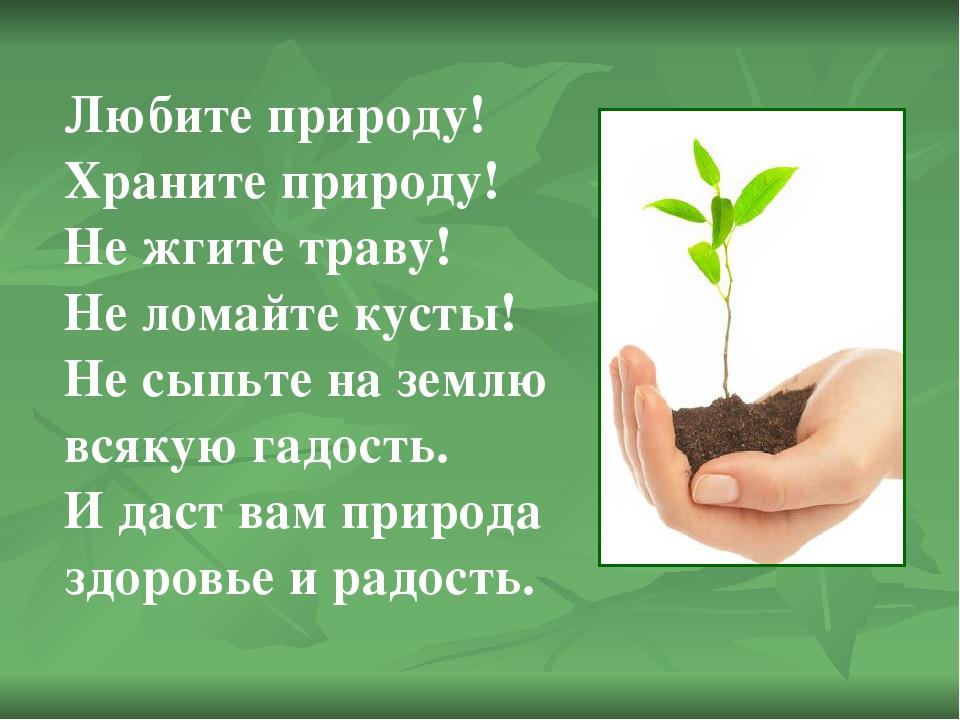 новой картинки защитить растения печатаются
