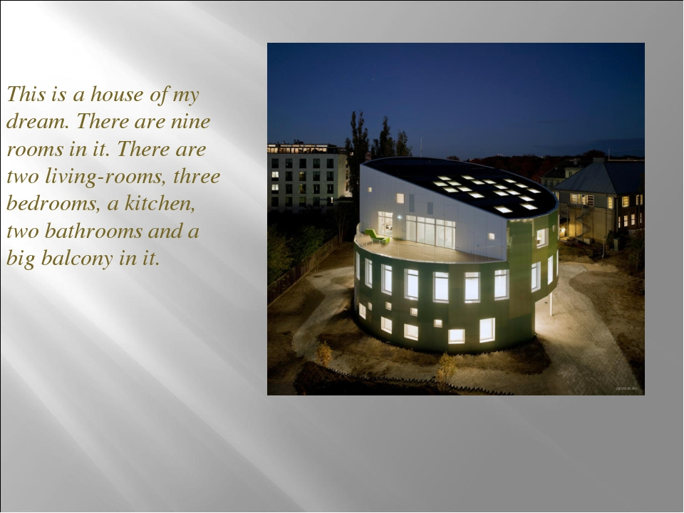 essay topic my dream house