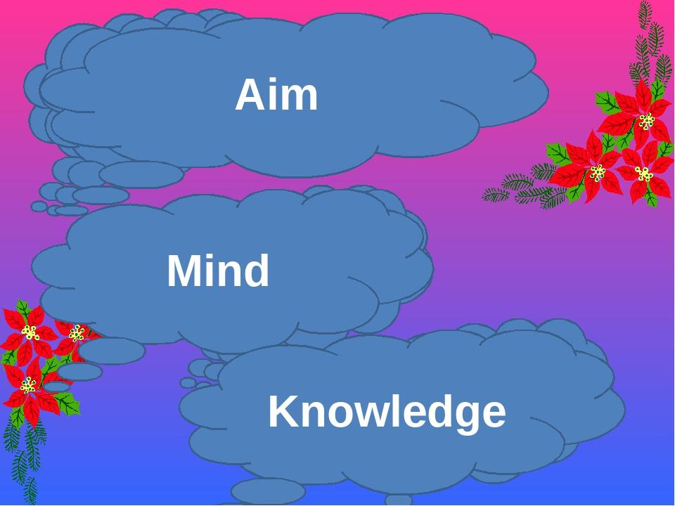 Aim Mind Study Aim Mind Aim Mind Knowledge