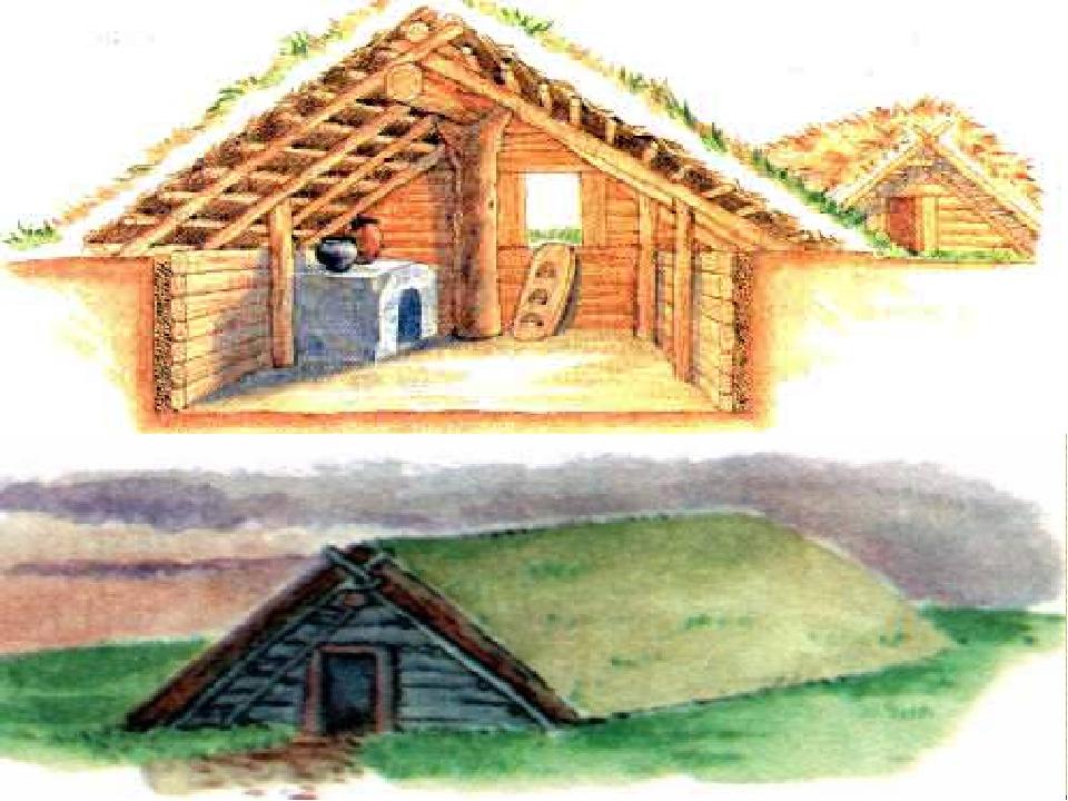 Картинки жилища в древней руси
