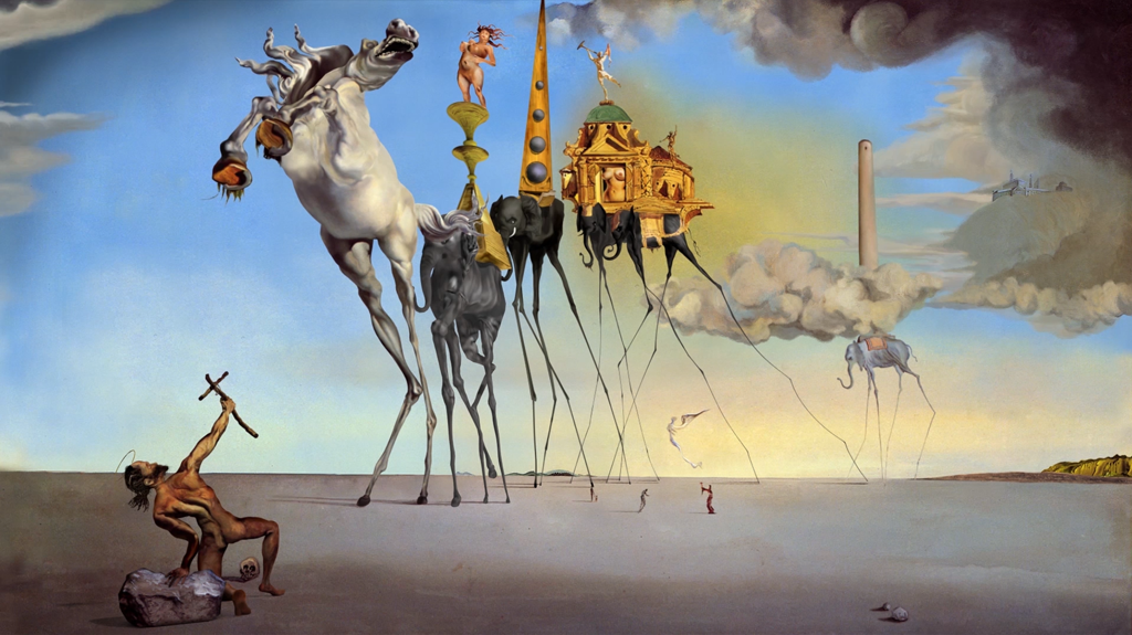famous surrealist paintings - 880×494