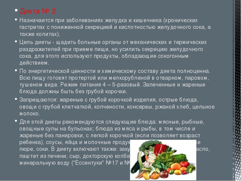 Диета при заболеваниях кишечника и поджелудочной железы