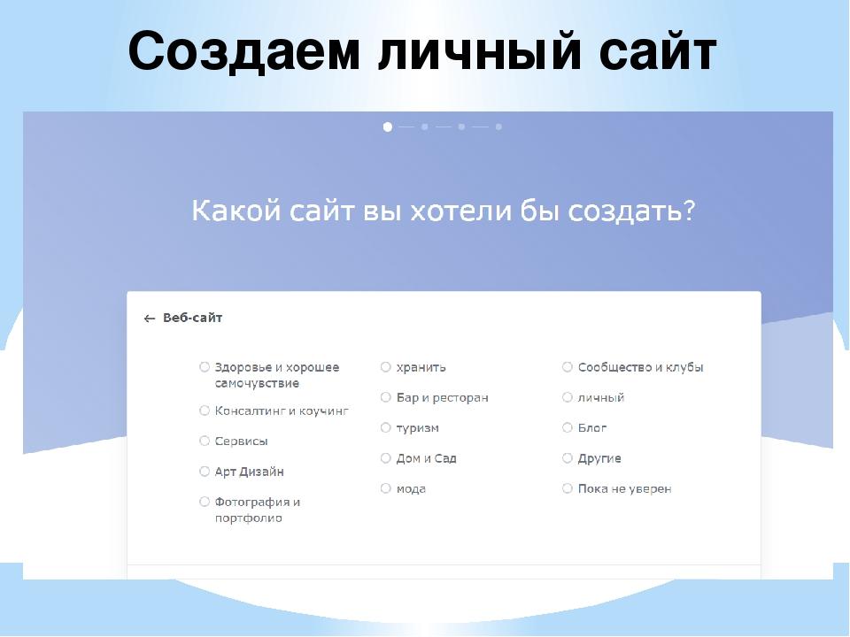 Создание личный сайт создание и монетизация сайта