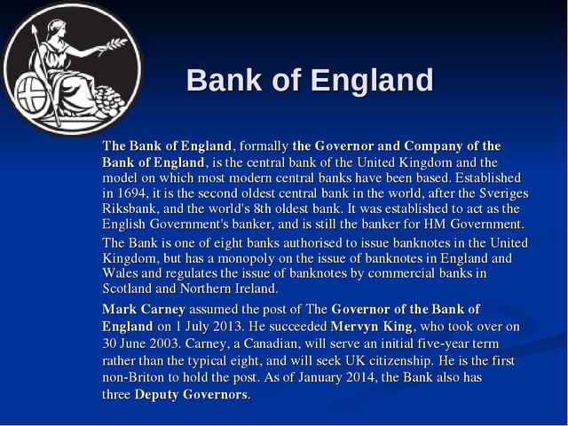 how successful has the government and the bank of england essay Introduction though central bank is viewed as one of the primary 'i was struggling with an essay and it was company registered in england and wales.