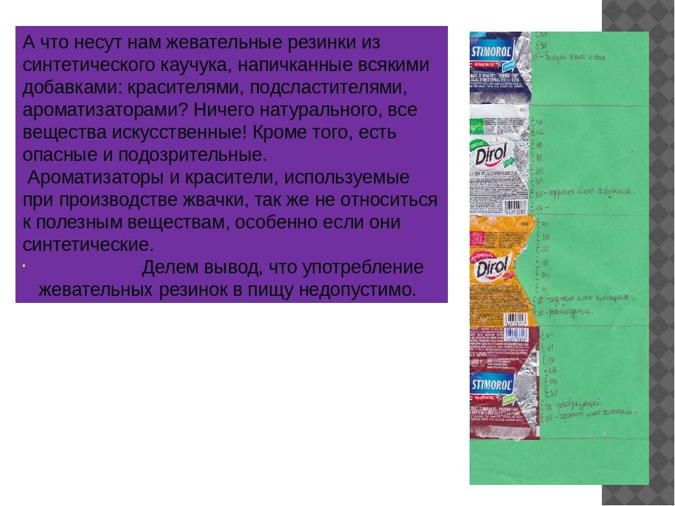 Информация о пищевых добавках, содержащаяся на упаковках продуктов питания, д...
